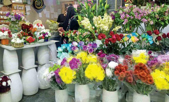 پژمردگی بازار گل وگیاه