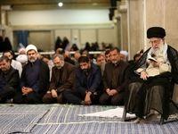 مراسم سوگواری امام علی(ع) در حضور رهبر معظم انقلاب +تصاویر