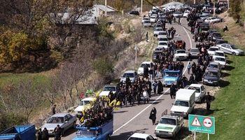 سرریز ترافیک تعطیلات پایانی تابستان به شهرهای مازندران