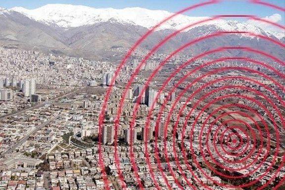 زلزله در تهران حداقل ۷میلیون نفر را میکشد +فیلم