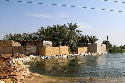 روستای سیل زده صراخیه در شادگان +عکس