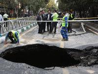 عوارض فرونشست زمین در جنوب تهران