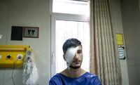 مجروحان حوادث اخیر تهران در بیمارستانها +تصاویر