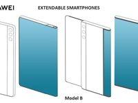 طرح جدید هوآوی برای گوشیهای انعطافپذیر