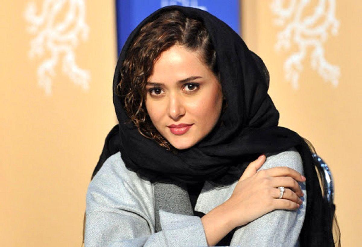 تبریک پریناز ایزدیار به شهاب حسینی +عکس