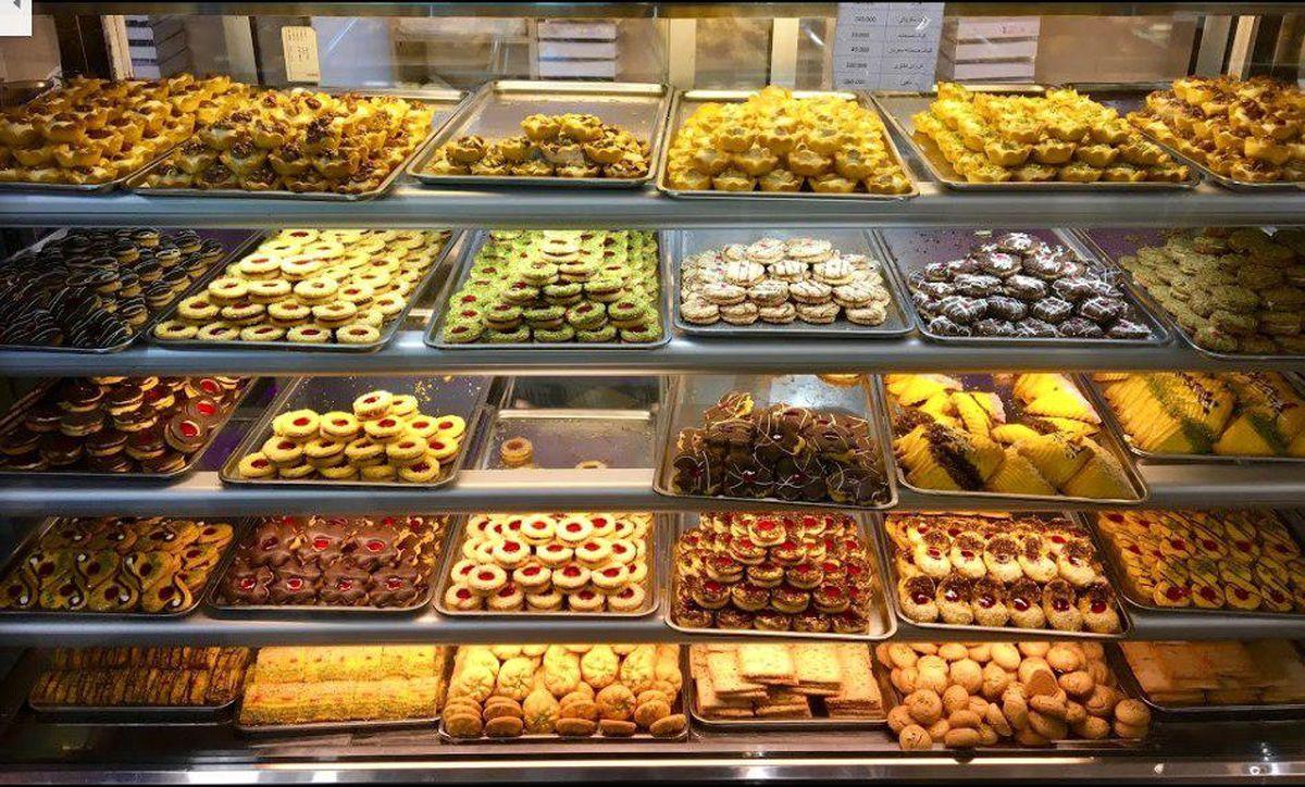 فروش شیرینی ۷۰درصد کاهش یافت