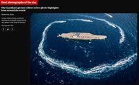 توجه ویژه گاردین به رزمایش موشکی ایران +عکس
