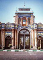 سردر زیبای باغ ملی +عکس