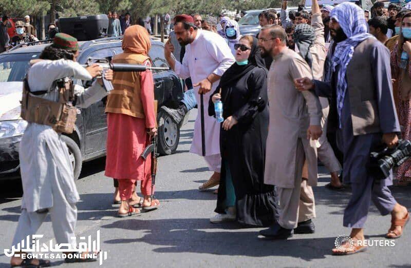 اعتراض افغان ها