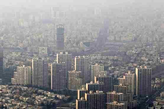 آغاز تدریجی افزایش غلظت آلایندههای جوی در شهرهای صنعتی