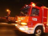 بیمارستان قرنطینه بیماران کرونا آتش گرفت