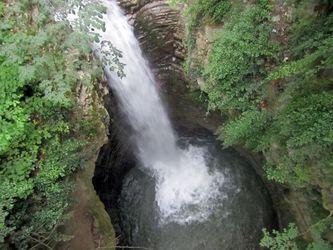 آبشار زیبای ویسادار +عکس