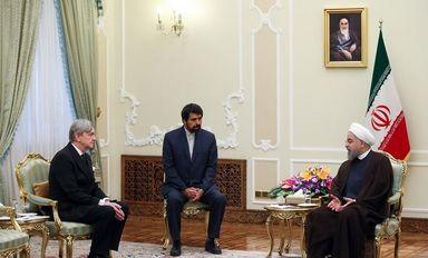 دیدار سفرای اتریش، صربستان و اروگوئه با روحانی
