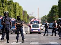 انفجار در شانزه لیزه پاریس +تصاویر