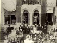 مراسم عروسی یک خانواده اعیان در دوره قاجار +عکس