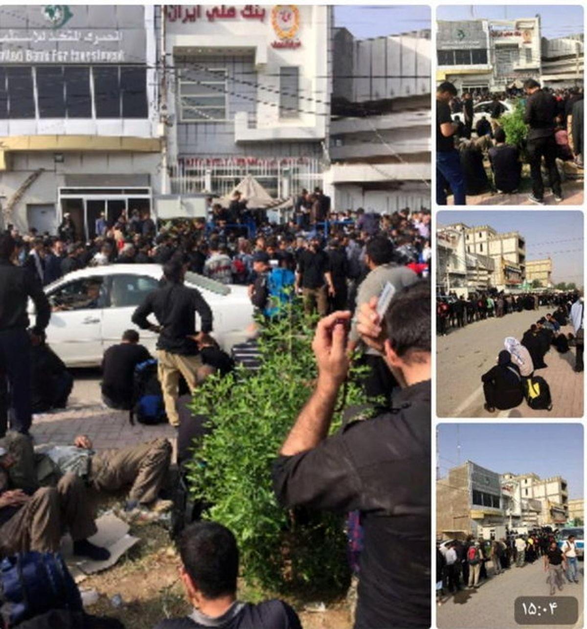 دردسر دیناری زائران ایرانی در عراق +عکس