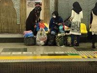 مدیرعامل مترو: دستفروشی را قبول نداریم و با آن مقابله میکنیم/ فعلا نمیتوانیم قطارهای فرسوده را از مدار خارج کنیم