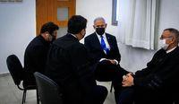 محاکمه نتانیاهو در دادگاه +عکس
