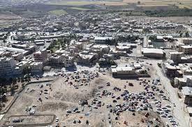 تصاویر هوایی از سرپل ذهاب پس از زلزله +فیلم