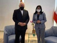 ظریف با معاون رییسجمهور ونزوئلا دیدار کرد