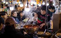 زنان شاغل در بازارهای کره جنوبی +تصاویر