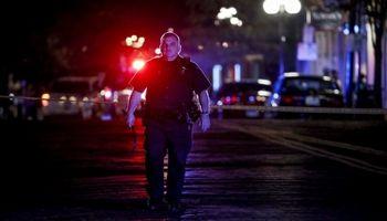 لحظه وقوع تیراندازی در اوهایو آمریکا +فیلم