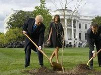 ماکرون درخت دوستی دیگری برای ترامپ میفرستد