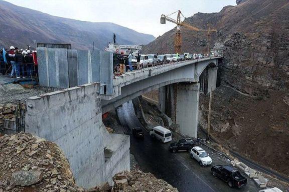 پیشنهادی برای افتتاح قطعه دوم آزادراه شمال