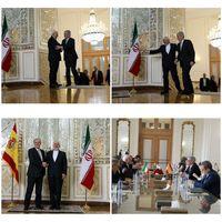 دیدار ظریف و همتای اسپانیاییاش در تهران +عکس