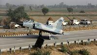 جنگنده میگ-۲۱ هند دچار سانحه شد