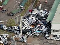 خسارتهای ناشی از طوفان ژاپن +تصاویر
