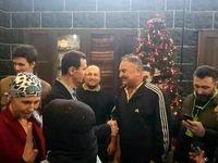 حال و روز همسر سرطانی بشار اسد +عکس