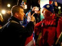 جنگ برگزیت به خیابانهای انگلیس رسید +تصاویر