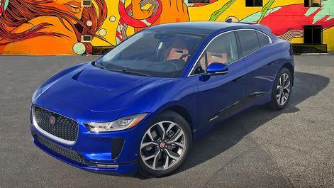 پایگاه خبری آرمان اقتصادی 2019-Jaguar-I-Pace-EV400-Blue نگاهی به هاچبک شارژی جگوار +تصاویر