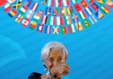 کریستین لاگارد، مدیر عامل صندوق بین المللی پول