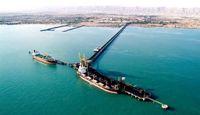 منطقه خلیج فارس روزانه ظرفیت تخلیه ۴۰۰واگن مواد معدنی دارد