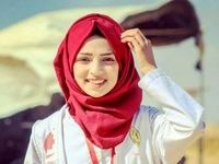 لحظه دردناک شهادت پرستار فلسطینی در نوار غزه +فیلم