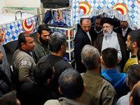 بازدید از پیش اعلام نشده رئیسی از زندان مرکزی البرز +تصاویر