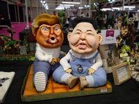 ترامپ و کیم در نمایشگاه بینالمللی کیک +عکس