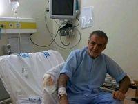 نایب رییس مجلس روی تخت بیمارستان +عکس