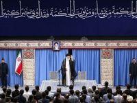 رهبرمعظم انقلاب: یک جریانی در کشور نخبگان را از ماندن در ایران دلسرد میکند/ وظیفهی وزارت علوم و وزارت بهداشت در برابر این جریان، مراقبت و پاکسازی است