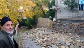 شهر میانه بعد از زلزله ۵.۹ریشتری +تصاویر