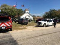 حمله مسلحانه به یک کلیسا در تگزاس +تصاویر