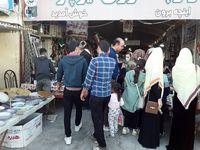 وضعیت عجیب بازارچه مرزی اینچه برون +عکس