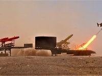 پهپادهای انتحاری ایران در کمین جنگندههای دشمن +تصاویر