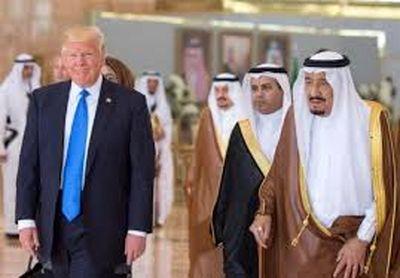 آغاز مذاکرات رسمی شاه عربستان و ترامپ در ریاض