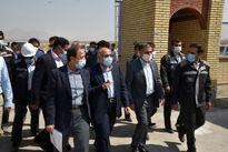 بازدید استاندار کرمان از پروژه بزرگ انتقال آب خلیجفارس در منطقه گلگهر