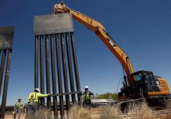 پنتاگون ۳.۸میلیارد دلار از بودجه را به احداث دیوار مرزی تخصیص میدهد