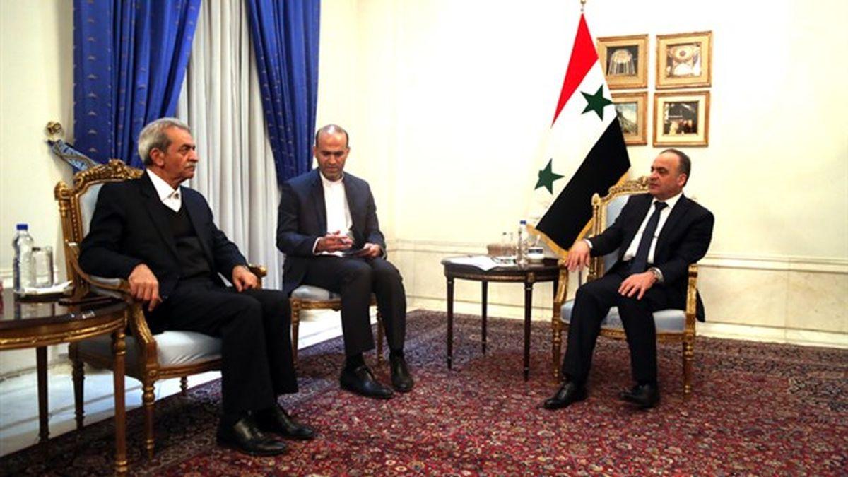 بخش خصوصی ایران برنامه ای ویژه برای سوریه دارد