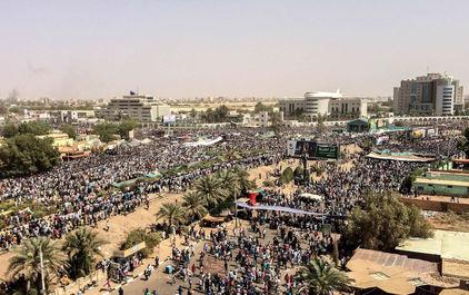 تظاهرات مردم سودان